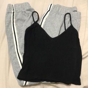 Brandy Sweatpants and Tanktop set